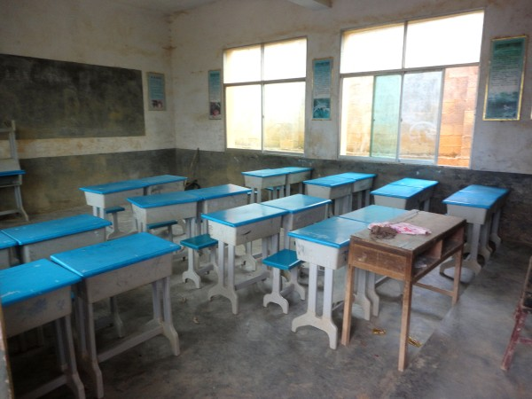 at Huang Ni Tian village elementary school (5)